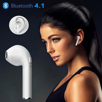 Bluetooth Mini Wireless Earphone 4.1 Stereo In-Ear Headphone For iPhone 7 Plus 6