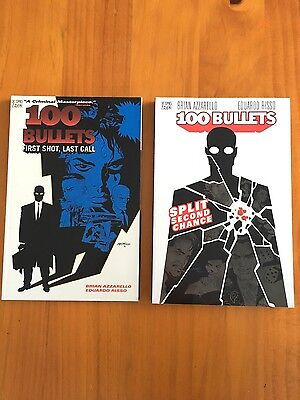 100 Bullets Volume 1 and 2 Graphic Novel TPB