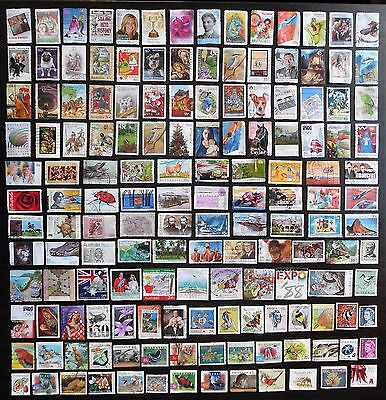 AUSTRALIA - mixed bulk lot MAU152, decimal collection, 150 different