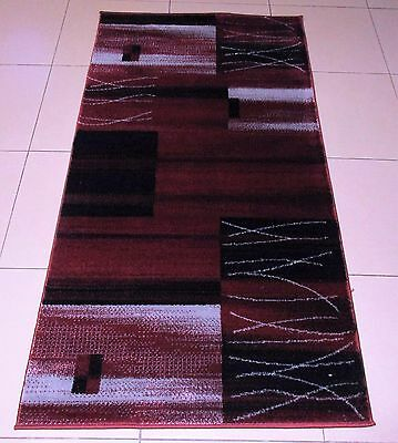 New Modern Heatset Floor Hallway Runner Rug 80X150Cm
