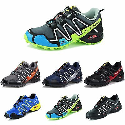 Men's Solomon Speed 3 Athletic Running Sports Outdoor Hiking Shoes Sneakers