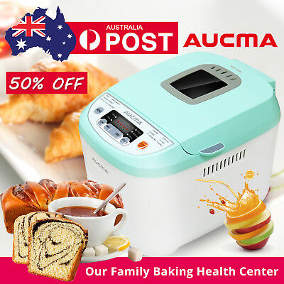 New Aucma Bread Maker Automatic Yogurt Jam Loaf Oven Stainless Doughnut Machine