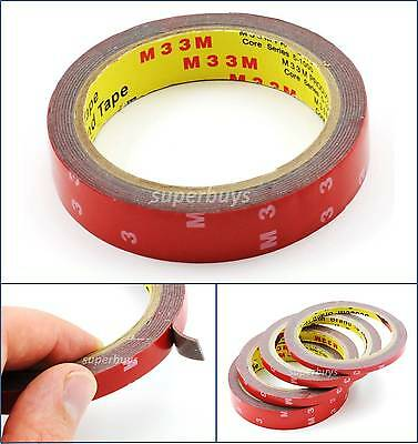20mm 3M Automotive Car Vehicle Acrylic Foam Double Sided Adhesive Attaching Tape