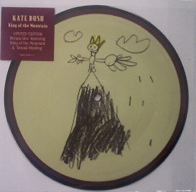 Kate Bush, King Of The Mountain, NEW/MINT PICTURE DISC 7 inch vinyl single