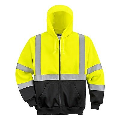 Portwest B315 High Visibility Two Tone Zipped Hoody