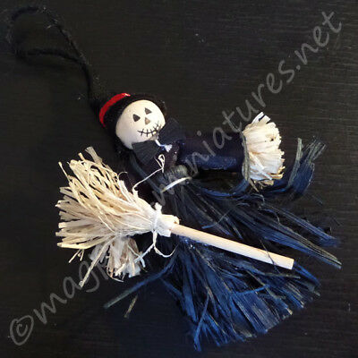 Dolls House Halloween Spooky Witch Scarecrow