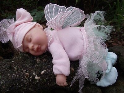 Anne Geddes sleeping baby fairy doll - BRAND NEW in DISPLAY BOX