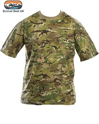 BTP CAMO T-SHIRT Army Military Camouflage All Sizes Airsoft Paintball