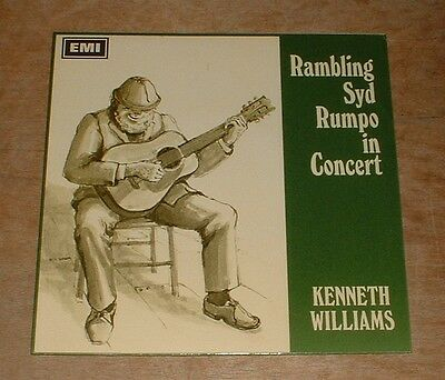 KENNETH WILLIAMS rambling syd rumpo in concert 1967 UK PARLOPHONE MONO PS EP