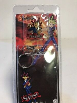 Yu-Gi-Oh! Keychain Pro Specialties 2002 Collectible Trading Pin and Key Tag S3