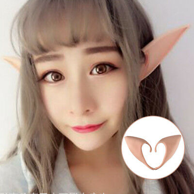 Angel Elf Ears Soft Latex Prosthetic Ear Halloween Cosplay Party Accessories