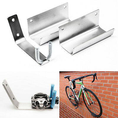 WALL CYCLE HOOK PEDAL HANGER CITY ROAD BIKE ideal for SPD Clipless Pedals