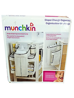 Munchkin Diaper Change Organizer - 9 storage areas - B49