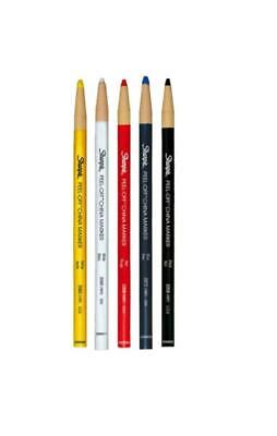 2x Sharpie Chinagraph China Pencils Markers Write Plastic Glass Ceramic Surfaces