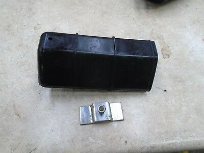 Honda 125 XL XL125 Used Tool Box & Clamp Bracket 1978 HB279