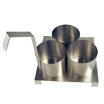 "Paragon Fryer Accessory - 4.5"" Funnel Cake Mold Ring with Base.  #4025"