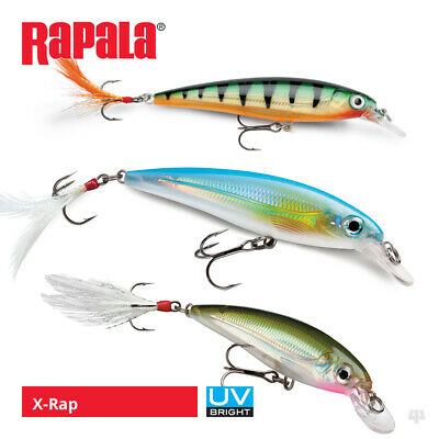 Rapala X-Rap Lures - Pike Perch Zander Bass Salmon Sea Trout Fishing Tackle