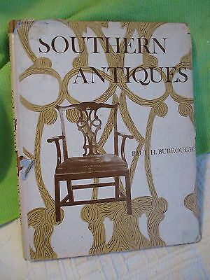 Southern Antiques By Paul Burroughs 1967  - Bonanza Books -197 pages