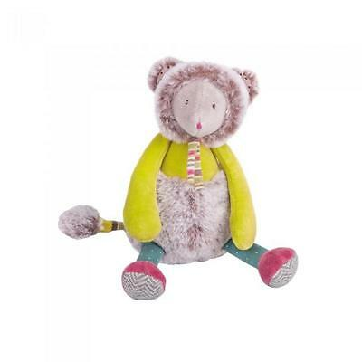 Moulin Roty 660026 Peluche Pupazzo Topo Verde Les Pachats H 21cm Mouse Souris