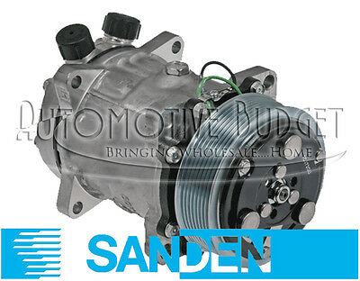 A//C Compressor w//Clutch for Sanden 4097 4802 4108 NEW OEM