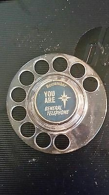 Remember You Are General Telephone Rotary Dial
