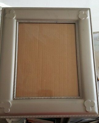 official disney parks 8x10 picture frame mickey mouse icon metal