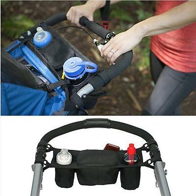 Baby Stroller Organizer Cup Bags Carriage Pram Buggy Cart Bottle Holder Unique