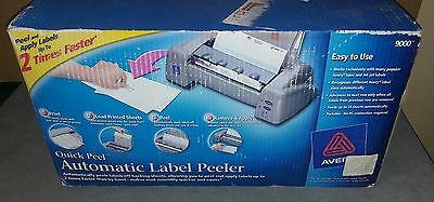 NEW In Box Avery Quick Peel Automatic Label Peeler Model 9000 Discontinued Item