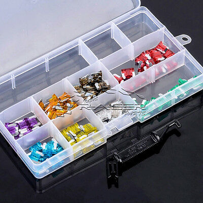 Micro Blade Fuse Set - 3A to 30A 100pcs includes Removal Tool