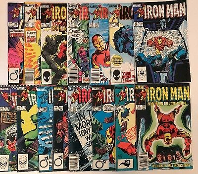Large Lot Of Old Marvel Comics Iron Man