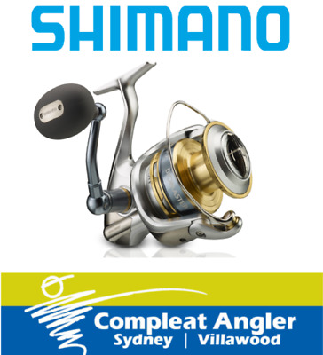 Shimano Biomaster SW 4000XG Spin Fishing Reel BRAND NEW At Compleat Angler
