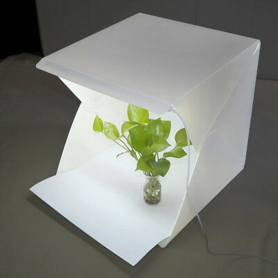 LED Light Room Photo Studio Photography Lighting Tent Backdrop Cube Mini Box NEW