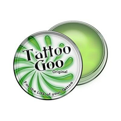 1,3 or 5 Tattoo Goo Aftercare Salve Tin Natural Healing Skin Care Ointment .33oz