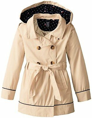 Nautica Childrens Apparel Big Girls Belted Trench Coat- Pick SZ/Color.