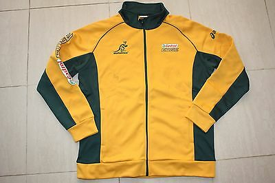 Wallabies Rugby Union Mens Zip Jacket, L  2XL, new with defects