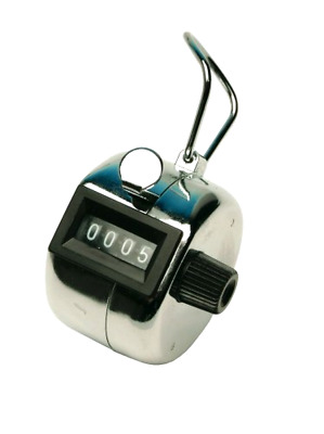 Q Connect Tally Counter - Chrome