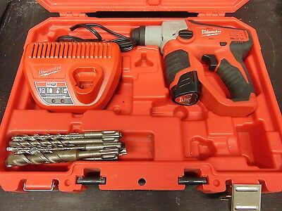 "Milwaukee M12 1/2"" SDS Plus Rotary Hammer Model 2412-20"