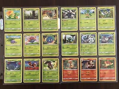 Pokemon TCG Burning Shadows Set – All Common Uncommon Rare Energy – 112 Cards