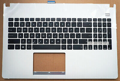 US Keyboard For ASUS Ultrabook X501 X501A X501U Palmrest TOP Case Cover White