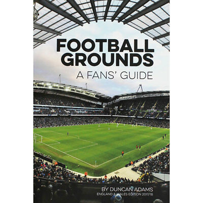 Football Grounds Guide 2017-2018 by Duncan Adams, Non Fiction Books, Brand New
