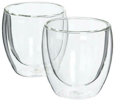 Bodum Pavina Double Wall Glasses, 2 Piece - 236mL Clear Free Shipping!