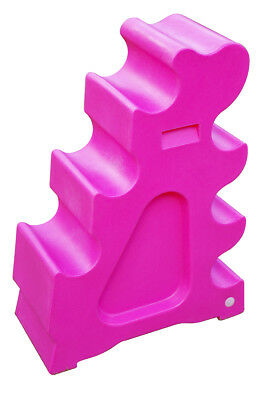 Classic Showjumps Pro-Jump Horse Sloping Jump Block Practice Jumping Pink Single