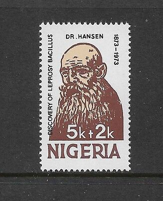 NIGERIA - mint 1973 Discovery of Leprosy Bacillus, Dr Hansen, No.1, MNH MUH