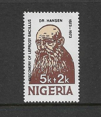 NIGERIA - mint 1973 Discovery of Leprosy Bacillus, Dr Hansen, No.2, MNH MUH