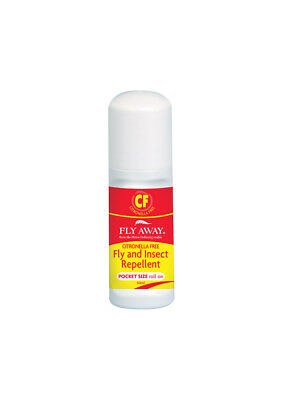 Fly Away Citronella Free Fly & Insect Repellent Roll-On 50ml Pest Fly Louse Inse