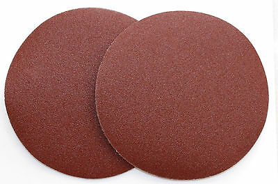 "20PC 7""(180mm)SANDING DISCS SAND PAPER ADHESIVE  80GRIT DRY WALL SANDER"