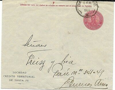 Early Argentina Cover, 1907
