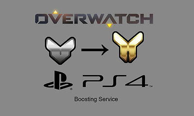Overwatch Account Boost PS4 SILVER to GOLD (1 DAY DELIVERY)