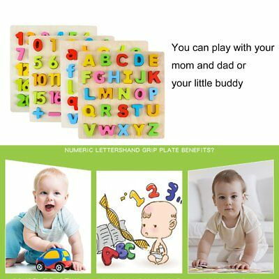 Wooden Children Baby Kids Learning Educational Toys Puzzle Learning Toys BTF