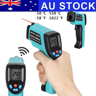 -50 ~ 550℃ Non-Contact IR Infrared Laser Digital Temperature Thermometer Gun